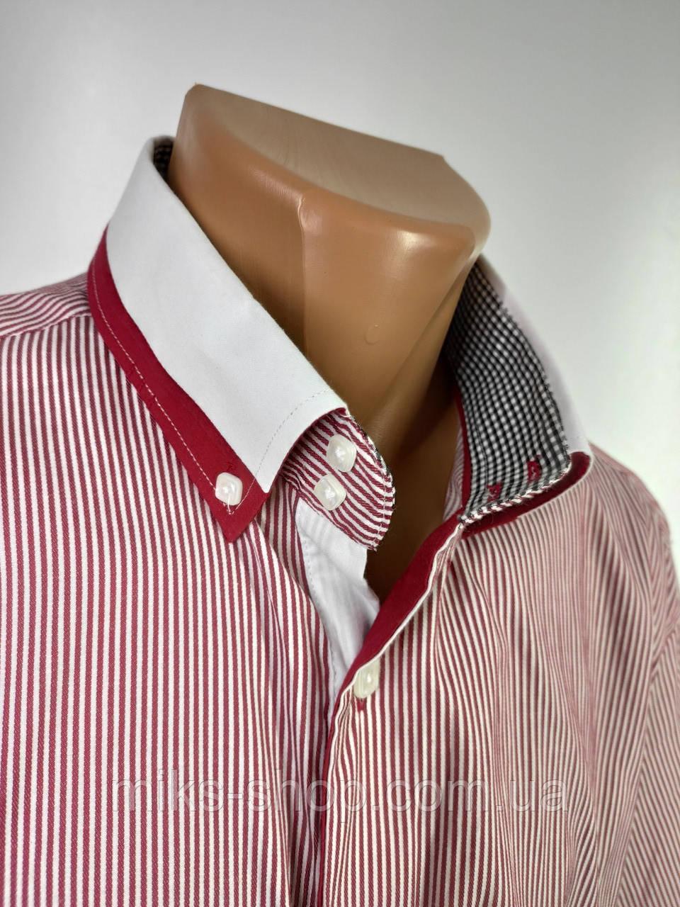 Чоловіча сорочка бренду MODELY COLLECTION Розмір L ( Я-189)