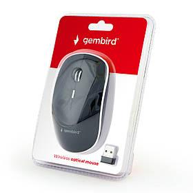 Мышь компьютерная беспроводная Gembird MUSW-4B-01 Black