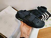 Мужские сандалии Adidas (серые) D124 молодежная летняя обувь
