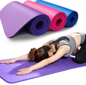 Килимок (каремат) для йоги та фітнесу 183*61*1 NBR