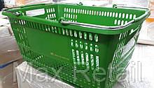 Корзина покупательская пластиковая 30 л.