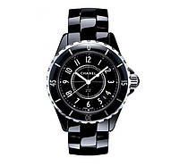 Часы женские Chanel J12 Ceramica 40mm Black. Реплика Premium качества (ААА), фото 1