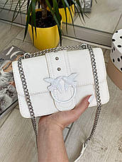 Жіночий клатч на ланцюжку Пінко білий КП48, фото 2