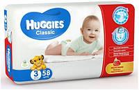 Подгузники Huggies Classic 3, 4-9 кг, 58 шт. (5029053543109)