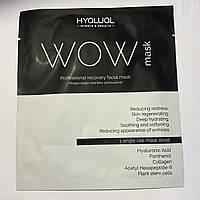 Гіалуаль HYALUAL WOW mask гідрогелева маска, фото 1