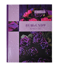 Книга канцелярская BOHO CHIC, А4, 96 л., клетка, офсет, твердая ламинированная обложка, фиолетовая