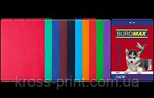 Набір кольорового паперу DARK+INTENSIVE, 10 цв., 50 л., А4, 80 г/м2