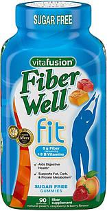 Vitafusion fiber well Fit Желейные жевательные конфеты с клетчаткой для борьбы с запорами 5гр. клетчатки 90 шт