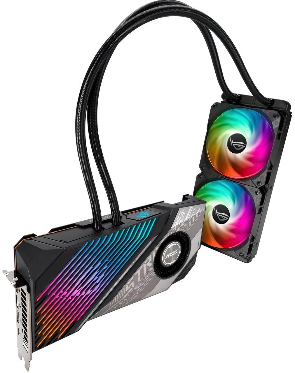Видеокарта ASUS Radeon RX 6800 XT STRIX LC 16GB OC