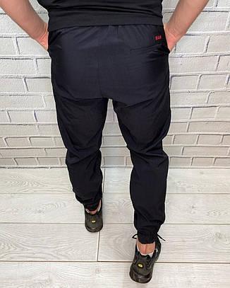 Штаны мужские Prada Черный Плащевка На резинке и шнуровке Штаны для мужчин Весна Лето, фото 2