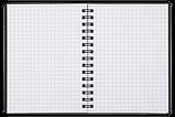 Тетрадь для записей OFFICE, А6, 96 л., клетка, пластиковая обложка, красная, фото 3