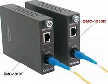 Медиаконвертер D-Link DMC-1910R 1xGE, 1x1000BaseLX SM, 15км, WDM, SC
