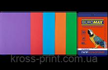 Набор цветной бумаги INTENSIVE, 5 цв., 50 л., А4, 80 г/м²