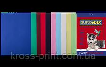 Набор цветной бумаги DARK+PASTEL, 10 цв., 20 л., А4, 80 г/м²