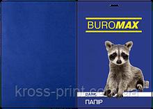 Бумага цветная DARK, т.-синяя, 50 л., А4, 80 г/м²