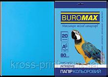Папір кольоровий INTENSIVE, св.-синій, 20 л., А4, 80 г/м2