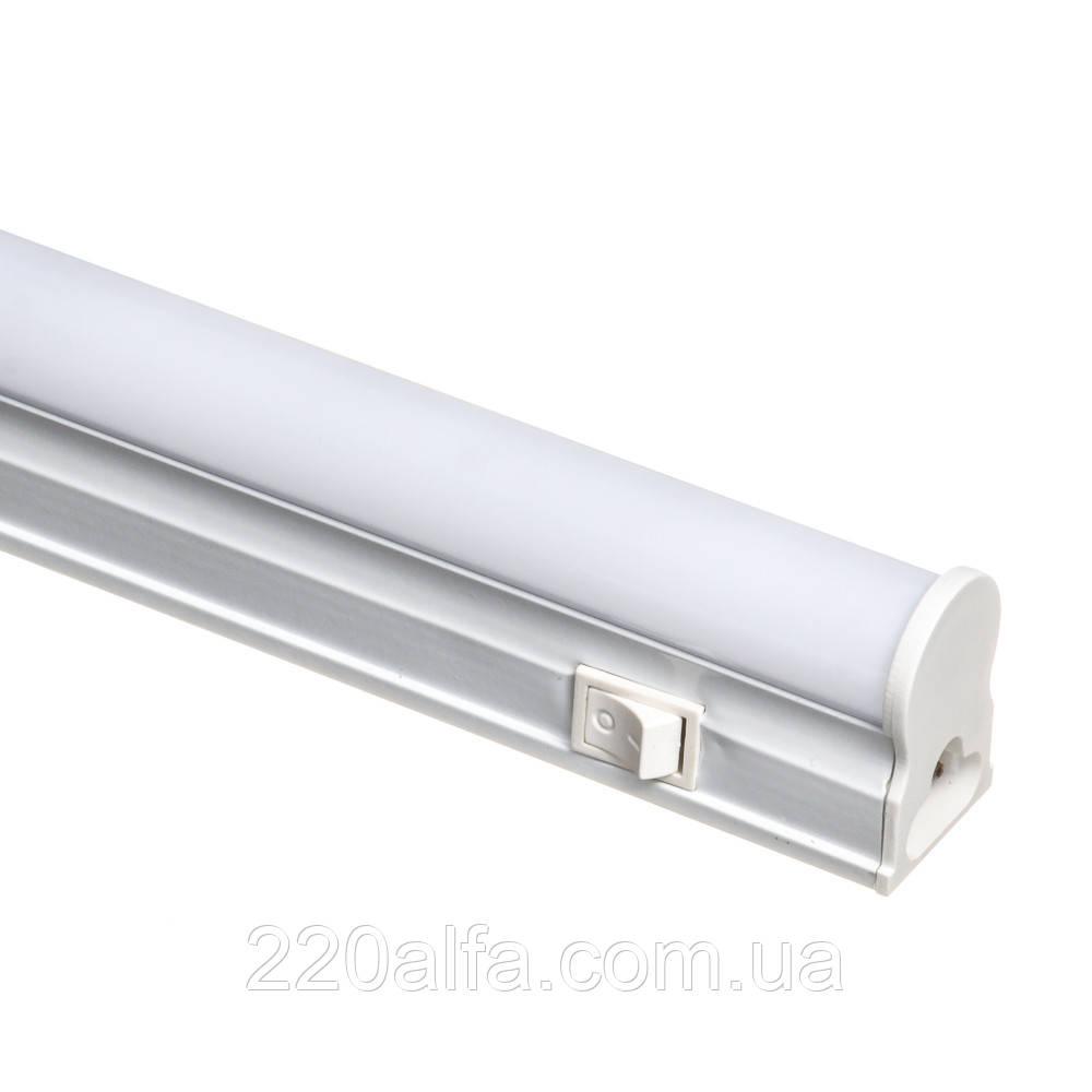 Led світильник лінійний накладної T5 5Вт 4000К 1200мм