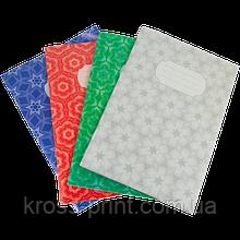 Тетрадь канцелярская, JOBMAX, А4, 48 л., линия, картонная обложка, ассорти