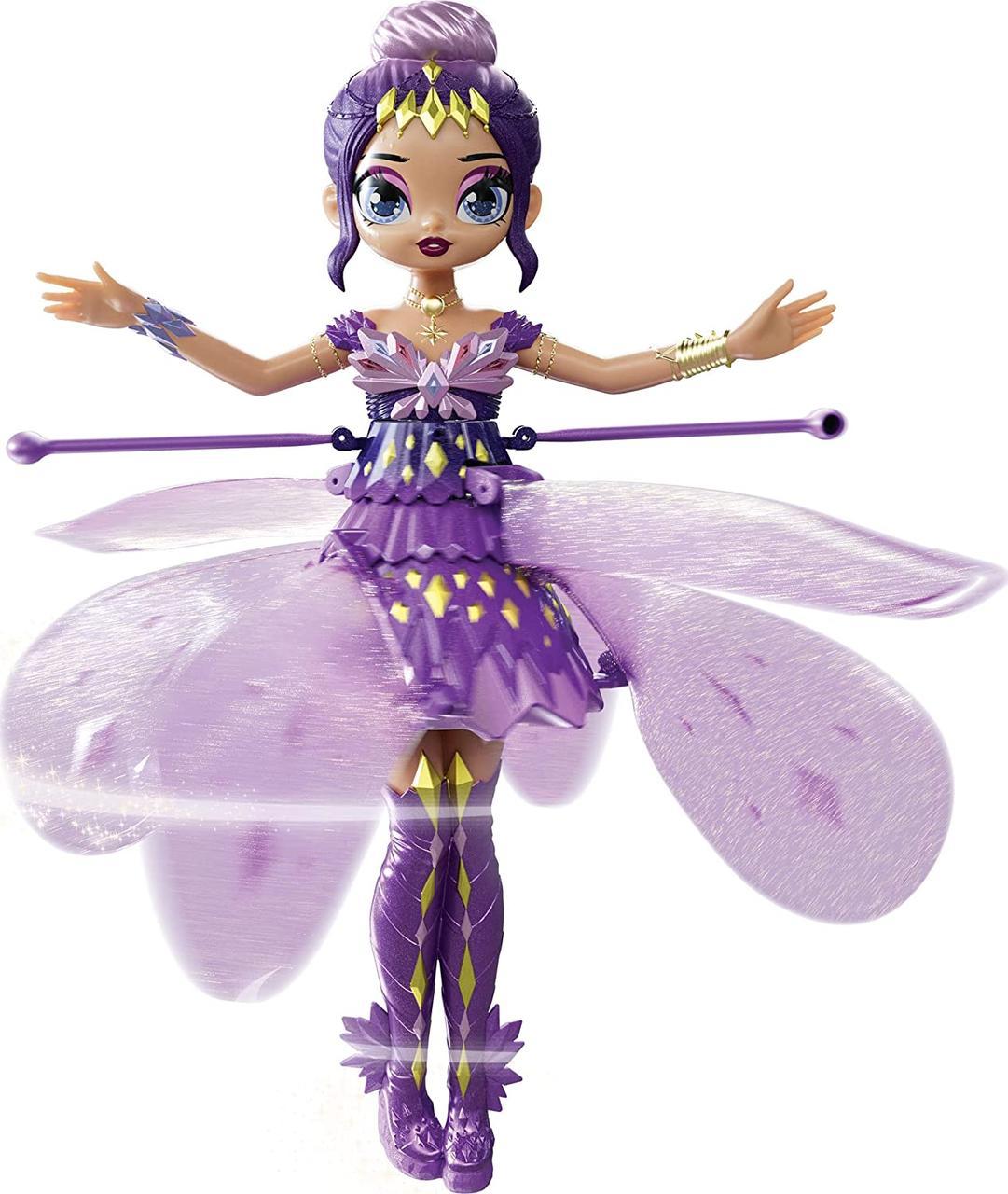 Інтерактивна лялька Хетчималс Чарівна літаюча Фея Пікс Hatchimals Pixies Crystal