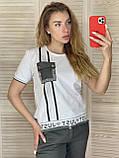 Спортивний костюм жіночий з брюками *Печатка*,(Туреччина); розм 42,44,46,48,50 норма,колір хакі., фото 2