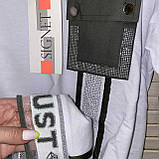 Спортивний костюм жіночий з брюками *Печатка*,(Туреччина); розм 42,44,46,48,50 норма,колір хакі., фото 5