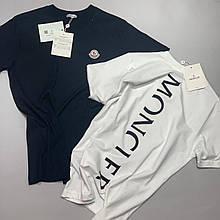 Мужская футболка Moncler CK2603 белая