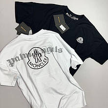 Мужская футболка OVERSIZE Moncler CK2605 белая
