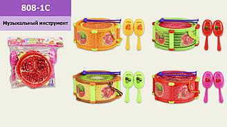 Музичні інструменти дитячі  з маракасами 808-1C