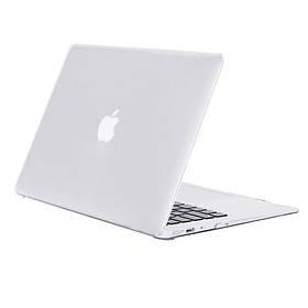 Чохол-накладка Matte Shell для Apple MacBook Air 13 (2018) (A1932) Матовий / Прозорий