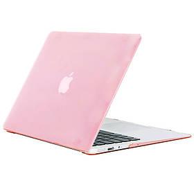 Чохол-накладка Matte Shell для Apple MacBook Air 13 (2018) (A1932) Рожевий / Pink