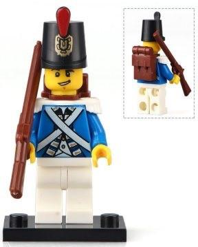 Фігурка Імператорський Гвардієць Pirates of the Caribbean Аналог лего