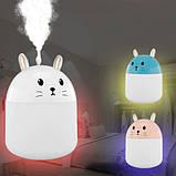 USB увлажнитель воздуха детский Humidifiers Rabbit / Ночник кролик, фото 2