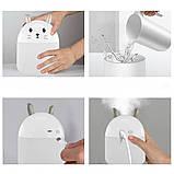 USB увлажнитель воздуха детский Humidifiers Rabbit / Ночник кролик, фото 6