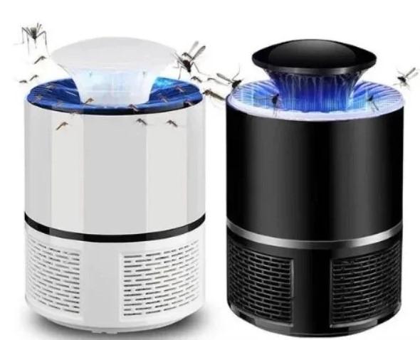 Лампа пастка для комарів знищувач комах 5 Вт USB Mosquito Killer Lamp чорна