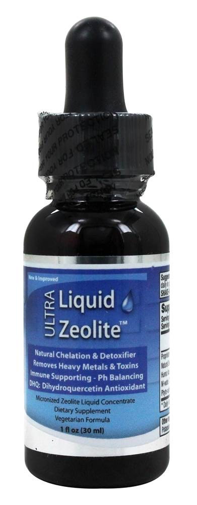 Liquid Zeolite, Ультра Зеолит Жидкий 30 мл