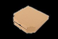 Коробка для пиццы 440*443*44 мм бурая
