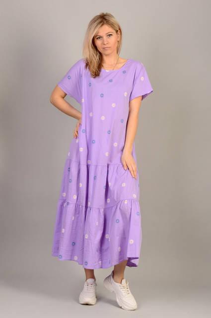 Итальянские женские платья оптом L&N Moda (1) 17Є, лот 12 шт 34