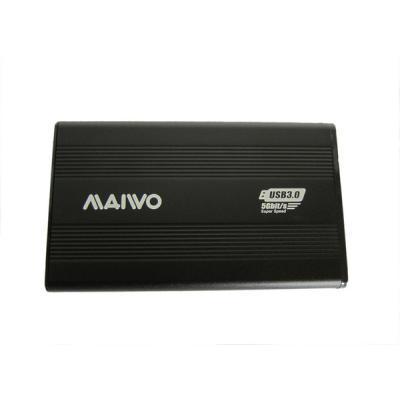 Карман зовнішній Maiwo K2501A-U3S black
