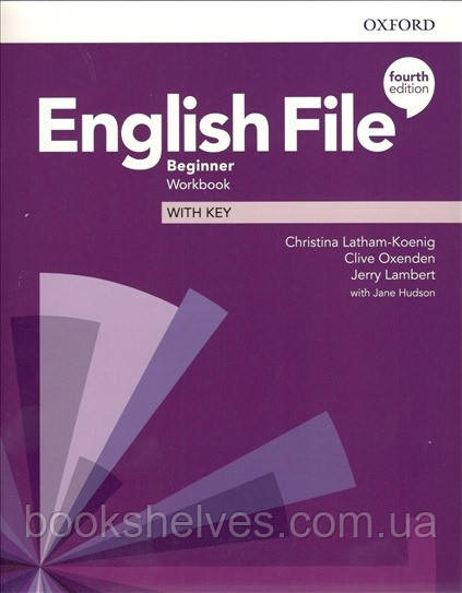 English File 4th Edition Beginner WorkBook + key