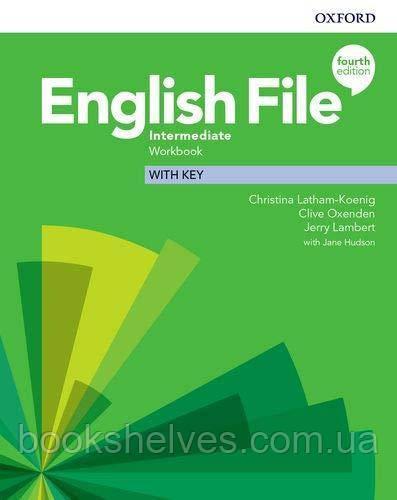 English File 4th Edition Intermediate WorkBook + key