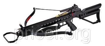 Арбалет Man Kung MK-XB21BK, Рекурсивний, гвинтівкового типу, пластик. приклад ц:чорний (MK-XB21BK)