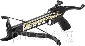 Арбалет Man Kung MK-80A4AL, Рекурсивний, пістолетного типу, алюм. рукоять ц:чорний (MK-80A4AL)