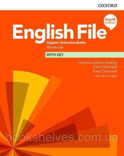 English File 4th Edition Upper-Intermediate Work Book + key