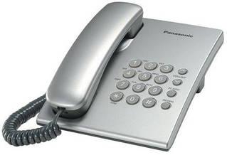 Провідний телефон Panasonic KX-TS2350UAS Silver