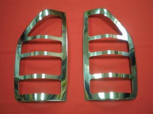 Накладки на стопы (2 шт, нерж.) Carmos - Турецкая сталь для Mercedes Sprinter 1995-2006 гг.