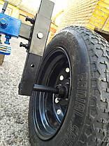 Адаптер для мотоблока ТМ Заліза під жигулівські колеса(регульоване дишло), фото 2