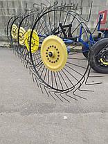 Адаптер для мотоблока ТМ Заліза під жигулівські колеса(регульоване дишло), фото 3