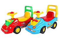 """Детская машинка-каталка """"Автомобиль для прогулок с телефоном Технок"""", размеры 57x47x26 см"""