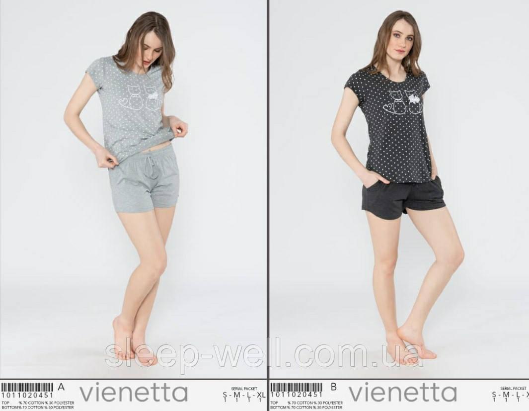 Піжама з шортами,Vinetta