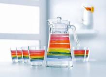 Комплект для напитков Luminarc COLOR PENCIL N0792 7 предметов, фото 3